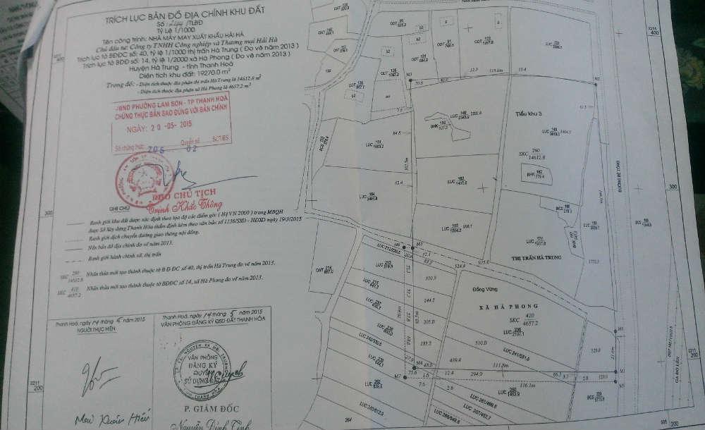 Trích lục bản đồ địa chính là gì? Tại sao phải trích lục thửa đất?