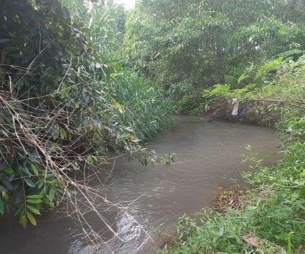 B070 - Bán nhà vườn có suối bao quanh, S 10614m2 có thổ cư giá 6,5 tỷ tại Láng Lớn, Châu Đức, BRVT