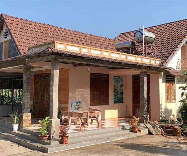 B086 -Bán nhà to, vườn đẹp 13117m2, 600m2 thổ cư, 100m mặt tiền, giá 12 tỷ tại Xà Bang, Châu Đức, BRVT