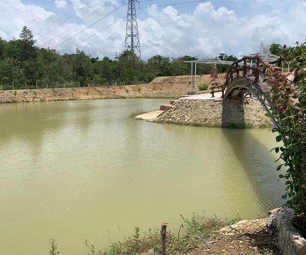 B109 - Bán khu nghỉ dưỡng view ruộng lúa, 100m mặt tiền, đã tạo view đẹp tại Suối Rao, Châu Đức, BRVT