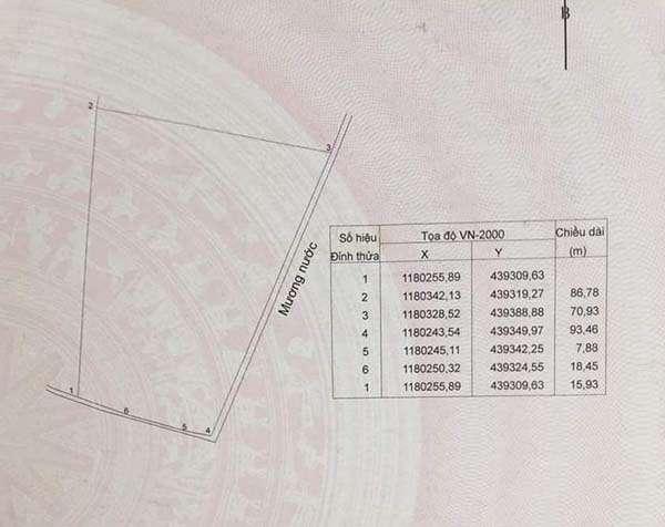 B113 - [GÓC ĐẦU TƯ]  Bán đất 10747m2 có sẵn 300m2 thổ cư, 100m mặt tiền, giá thấp hơn 10% so với khu vực tại Bàu Chinh, Châu Đức, BRVT