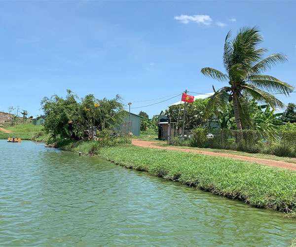 B118 -  [ SIÊU PHẨM] Bán miếng đất cực đẹp 5.2HA bao quanh 5 hồ nước lớn, có 300m thổ cư và 2 mặt tiền dài đến 280m, đất đẹp, bằng phẳng giá 27 tỷ tại Suối Rao, Châu Đức, BRVT