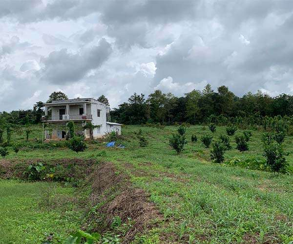B124 - [ NGHĨ DƯỠNG] Bán vườn trái cây 20272m2 view thơ mộng cạnh suối lớn, có nhà đẹp, 300m2 thổ cư đất phủ hồng toàn bộ, có sẵn ao nước lớn giá 14.6 tỷ Xà Bang, Châu Đức, BRVT