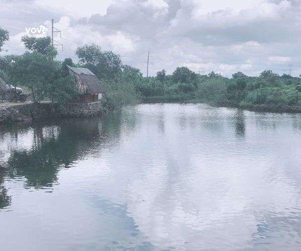 Bán khu ẩm thực câu cá giải trí, hồ nước đẹp lung linh tại Cây Gáo, Trảng Bom, Đồng Nai