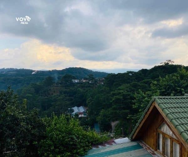 Bán miếng đất tại tp Đà Lạt 492m2 có sẵn biệt thự, khí hậu mát mẻ quanh năm, với view toàn cảnh rừng thông
