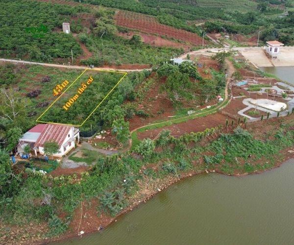 Bán miếng đất ven hồ Đông – Di Linh, Lâm Đồng