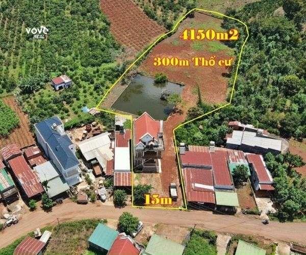 Bán Nhà vườn đẹp cách QL20 3 km tại Di Linh, Lâm Đồng