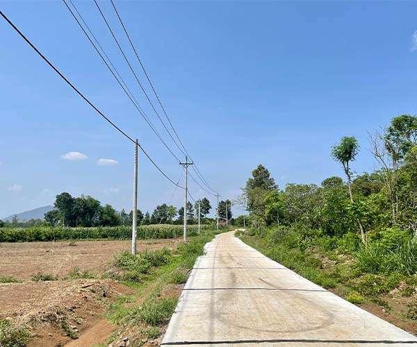D042 - Bán đất có S 7990m2, đẹp, bằng phẳng có 2 mặt tiền dài 160m tại Xuân Bảo, Cẩm Mỹ, Đồng Nai
