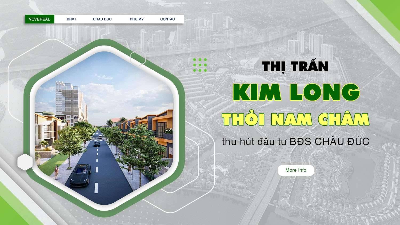 Tìm hiểu thị trấn Kim Long - Thỏi nam châm thu hút đầu tư bất động sản Châu Đức